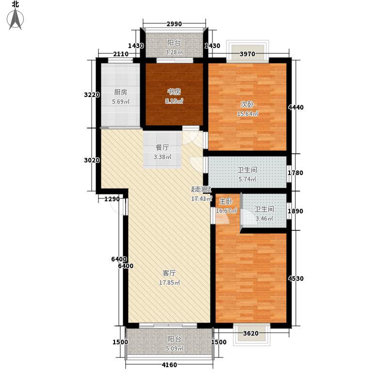 7#C1型:3房2厅2卫
