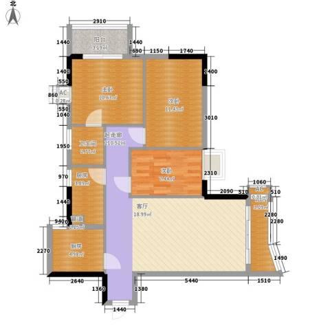 天一庄3室0厅1卫2厨111.00㎡户型图