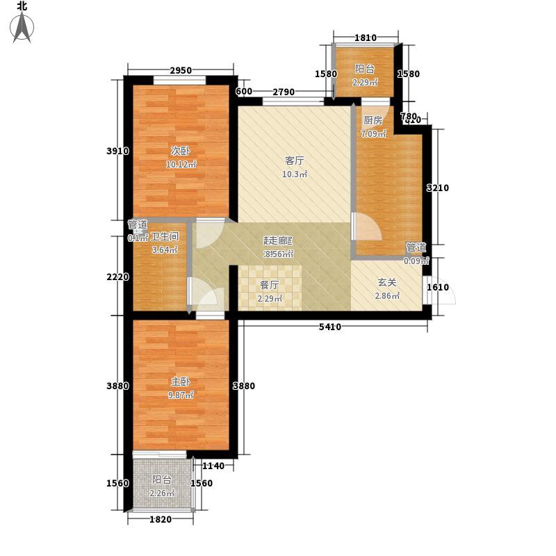 冀东花园4#楼A-8户型