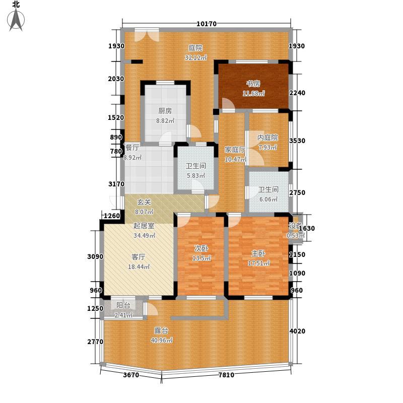俊城橡树原洋房16号楼 n1'户型