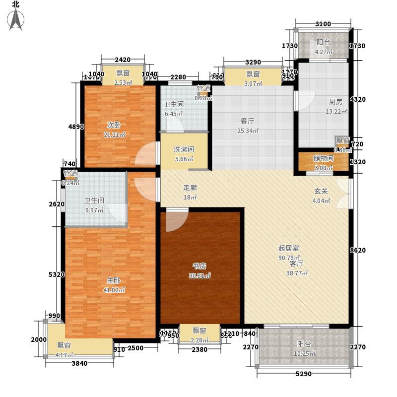 虹口现代公寓255.00㎡面积25500m户型