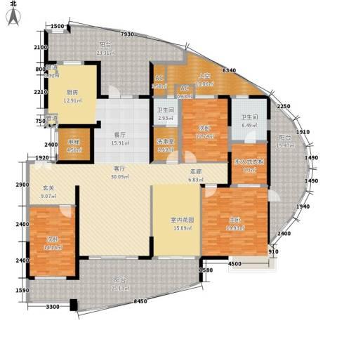 国奥天地3室0厅2卫0厨249.00㎡户型图