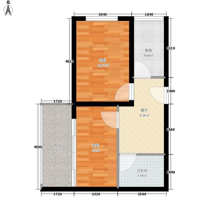 金安公寓51.71㎡金安公寓51.71㎡户型10室