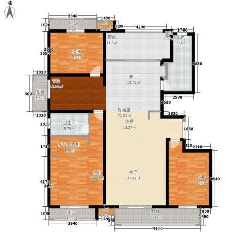 麒麟公馆3室0厅2卫1厨198.00㎡户型图