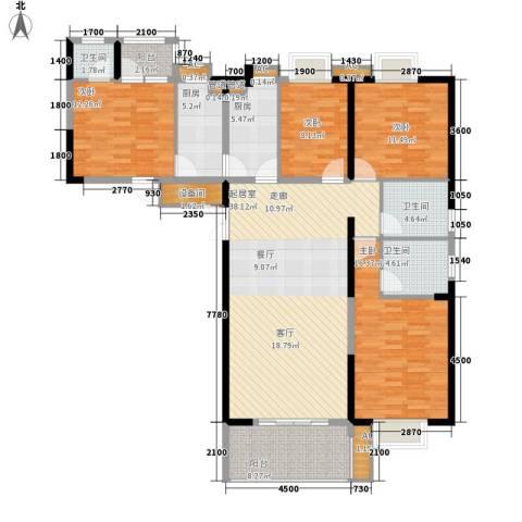 国奥天地4室0厅3卫2厨159.00㎡户型图