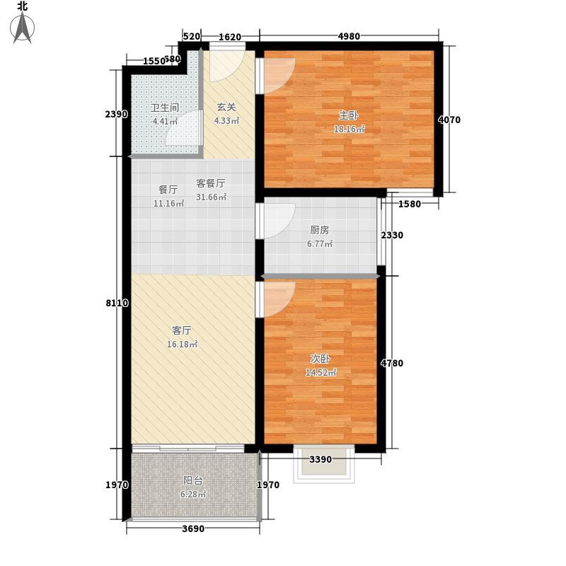 金安公寓91.86㎡金安公寓91.86㎡户型10室