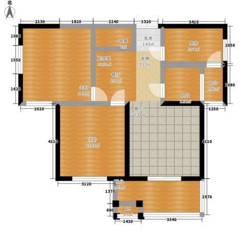 檀香园2室0厅0卫1厨89.00㎡户型图