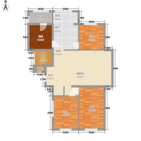 名仕家园4室0厅0卫0厨119.00㎡户型图