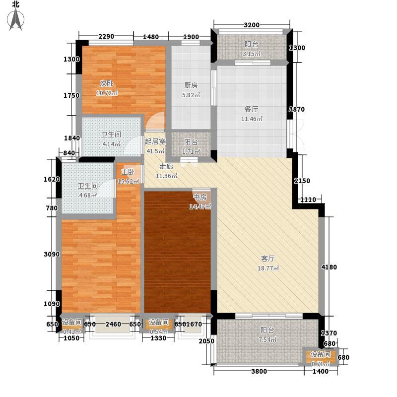 茂华国际湘132.00㎡3M-A2面积13200m户型