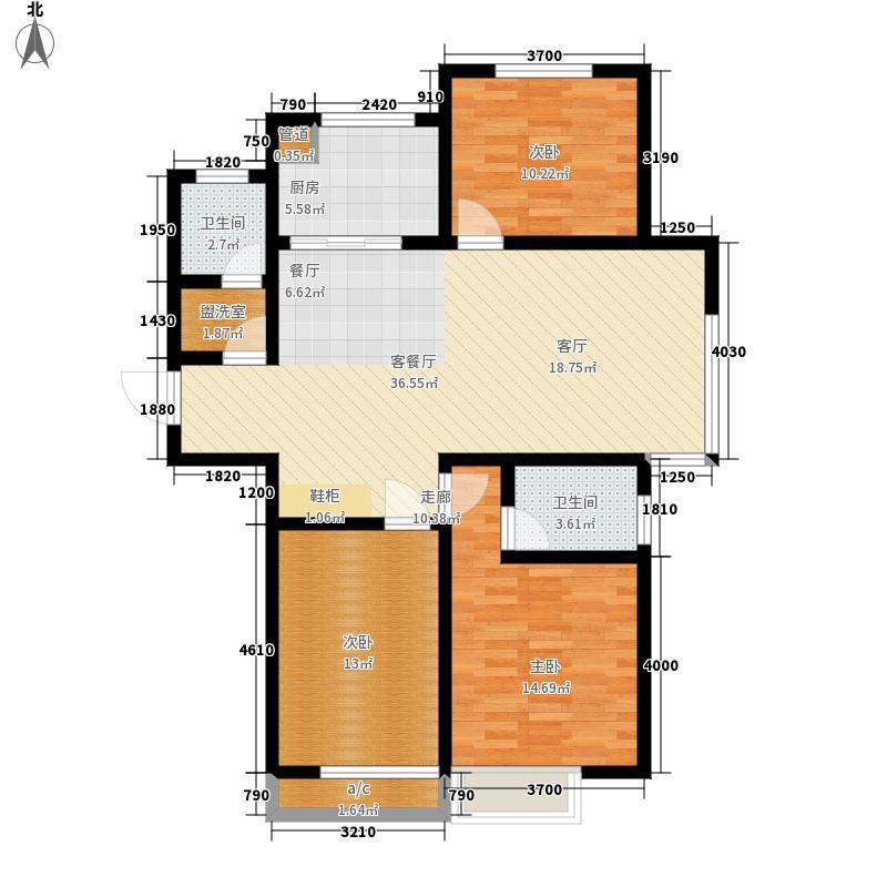 中建锦绣城112.00㎡11#楼K户型3室2厅