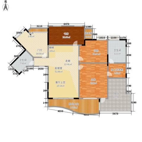 骏逸天下3室0厅2卫0厨233.00㎡户型图
