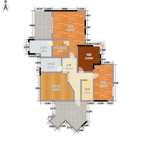 骏逸天下3室0厅2卫0厨194.00㎡户型图