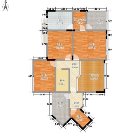 骏逸天下4室0厅1卫0厨149.00㎡户型图