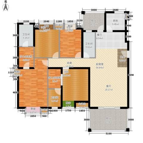 凯旋国际4室0厅3卫1厨173.00㎡户型图