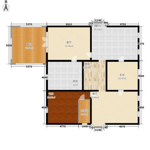 丽高王府1室2厅1卫1厨234.00㎡户型图