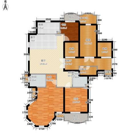 维科龙湾府3室1厅2卫1厨144.00㎡户型图