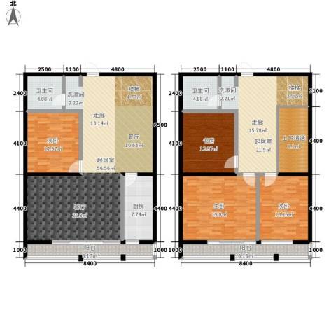 瀚景名座4室0厅2卫1厨257.00㎡户型图