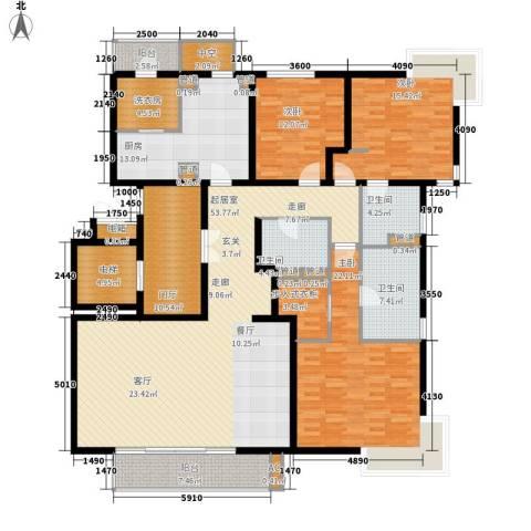 尚浦领世3室0厅3卫1厨195.00㎡户型图