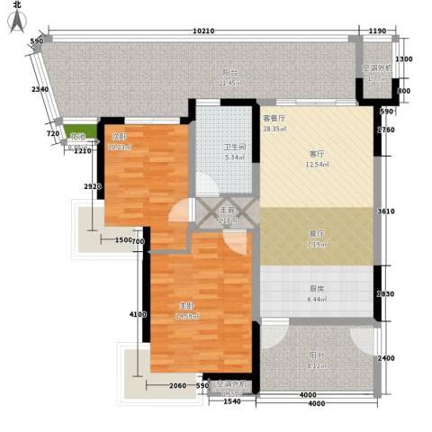 任家庄2室1厅1卫0厨130.00㎡户型图