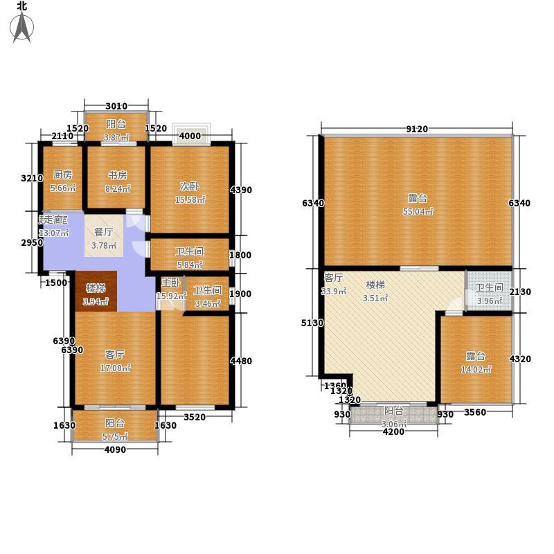 7#C1型:3房3厅3卫