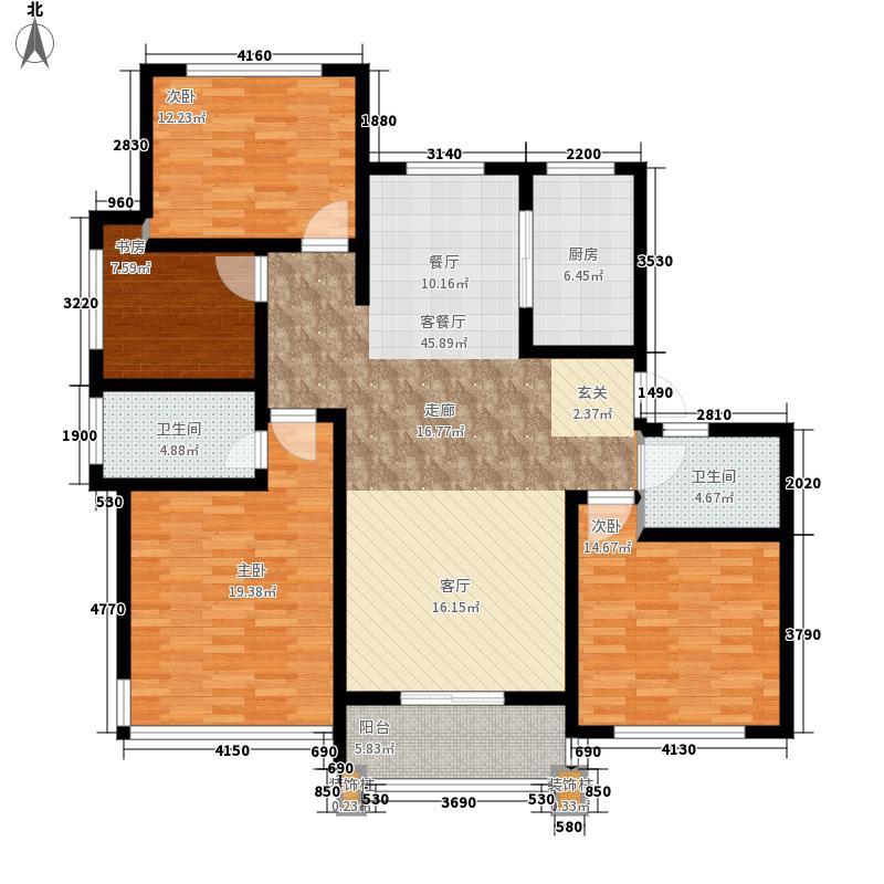 丁香公馆139.10㎡A户型