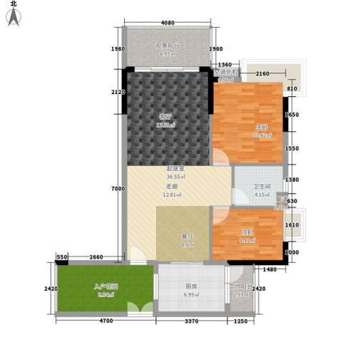 逸泉山庄别墅2室0厅1卫1厨98.00㎡户型图