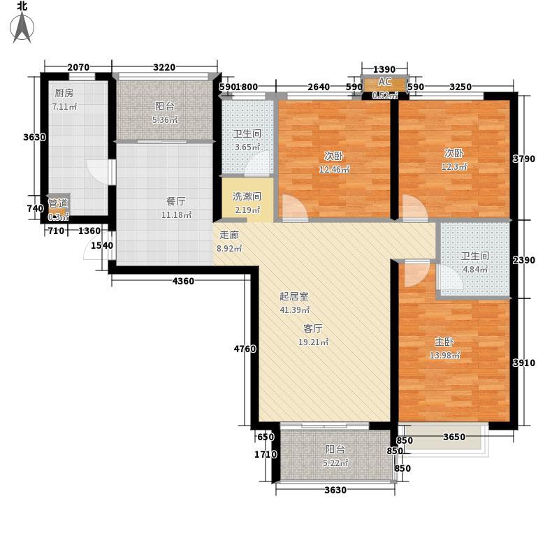 濮阳中央城122.00㎡3室2厅2卫