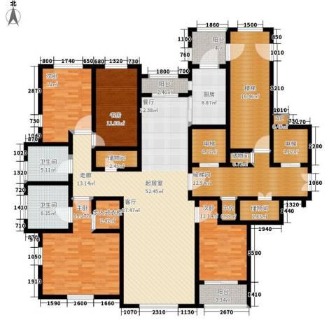 玉兰花园4室0厅2卫1厨213.00㎡户型图