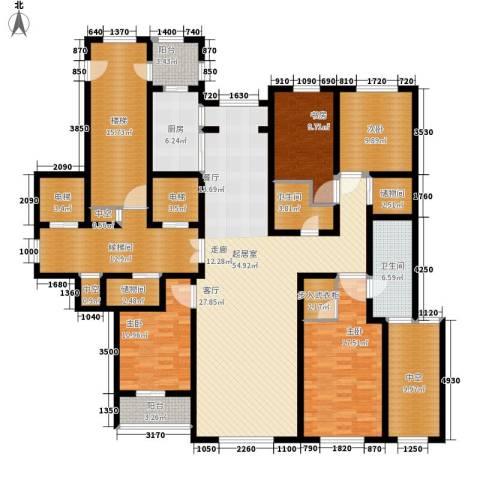 玉兰花园4室0厅2卫1厨210.00㎡户型图