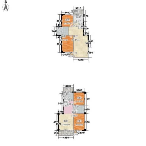 恒盛温泉新城4室2厅2卫0厨226.00㎡户型图