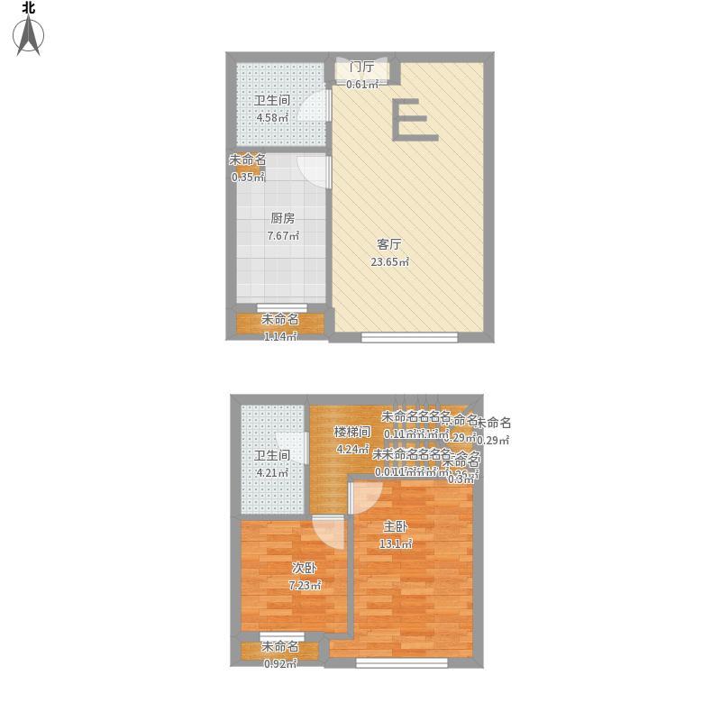 大唐天下江山二期。天沄。106平米。两室两厅两卫