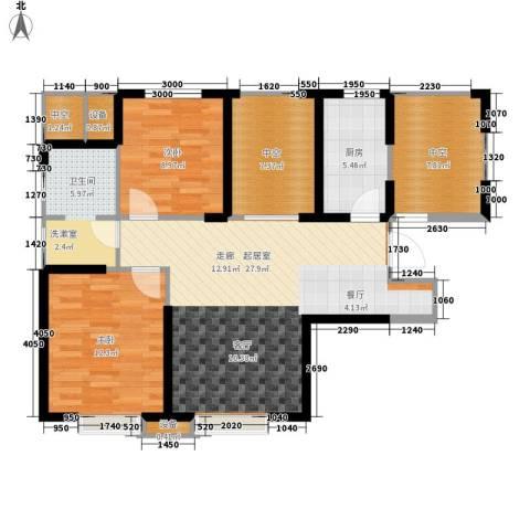 福源九方2室0厅1卫1厨95.00㎡户型图
