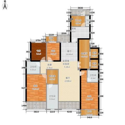 旺座城—海德堡PARK4室0厅4卫1厨198.00㎡户型图
