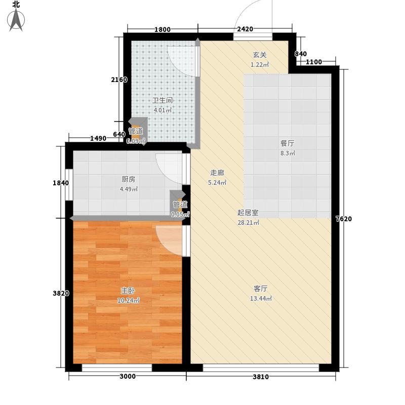 东方银座国际公寓11户型