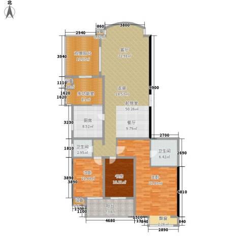 向阳门第3室0厅2卫1厨172.00㎡户型图