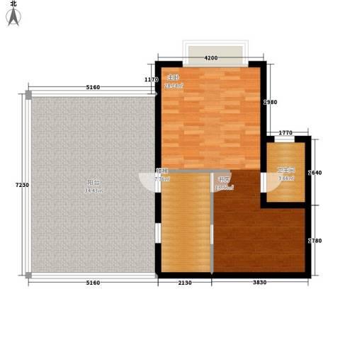 尚高境界1室0厅1卫0厨103.00㎡户型图