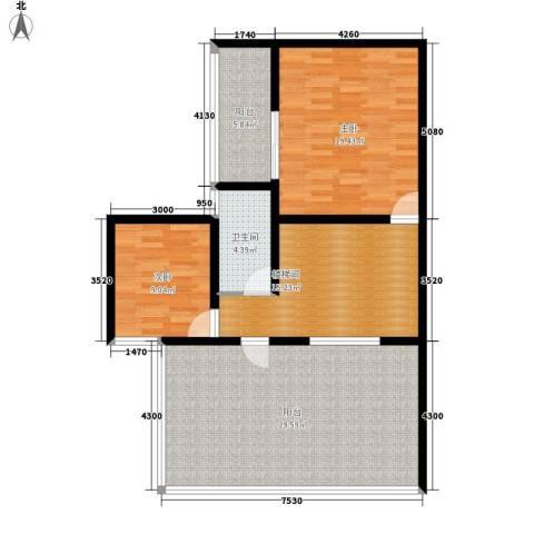 尚高境界2室0厅1卫0厨118.00㎡户型图