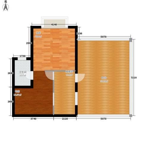 尚高境界1室0厅1卫0厨99.00㎡户型图