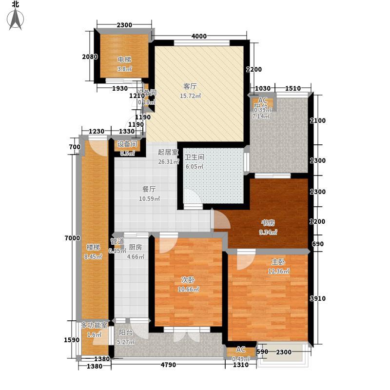 加利广场115.00㎡ 面积11500m户型