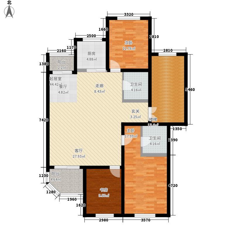 假日兰庭134.00㎡假日兰庭户型图3室2厅2卫户型10室