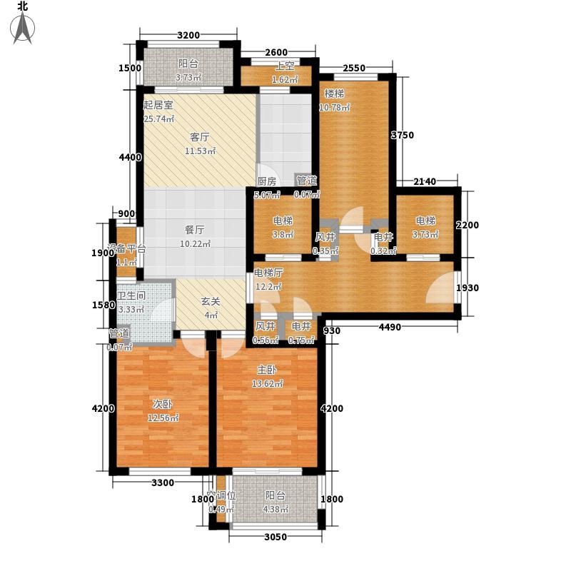 绿城翡翠湾92.69㎡绿城翡翠湾户型图92平米1#2#B1户型2室2厅1卫1厨户型2室2厅1卫1厨