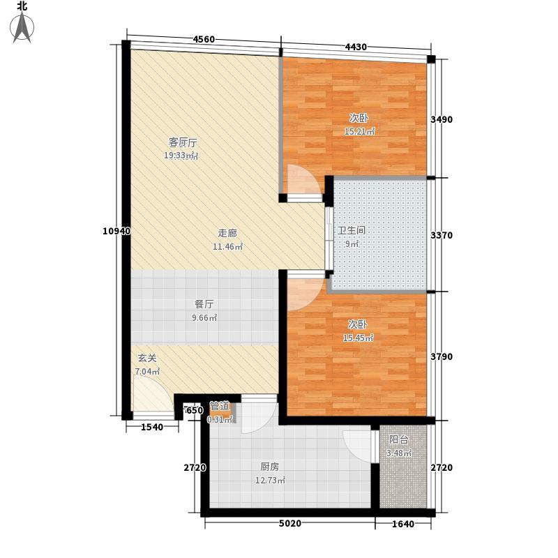 夏宫城市广场115.02㎡夏宫城市广场户型图B1户型115.02㎡2室2厅1卫1厨户型2室2厅1卫1厨