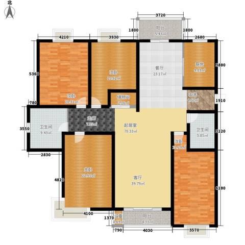 贵都之星4室0厅2卫1厨204.00㎡户型图