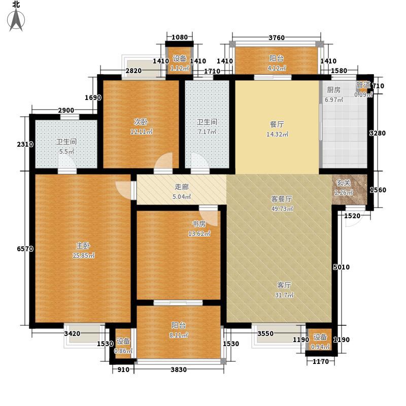 恒达清水园155.00㎡恒达清水园户型图户型图3室2厅2卫1厨户型3室2厅2卫1厨