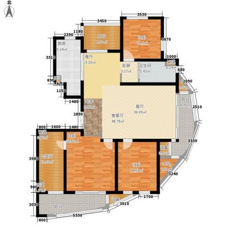 吴宫丽都3室1厅2卫1厨170.00㎡户型图