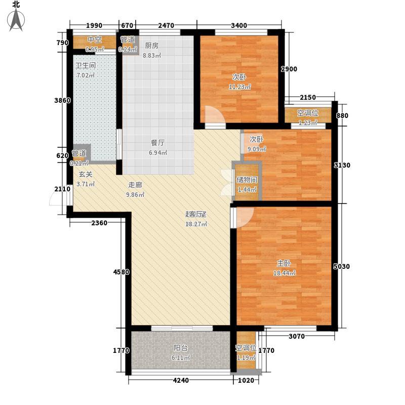 华海园120.00㎡华海园户型图3室户型图3室2厅2卫1厨户型3室2厅2卫1厨