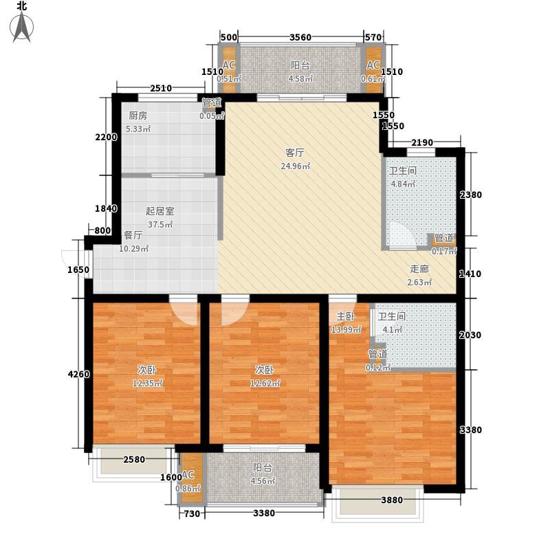 博仕后家园117.00㎡博仕后家园户型图5#楼03―04户型3室2厅2卫1厨户型3室2厅2卫1厨