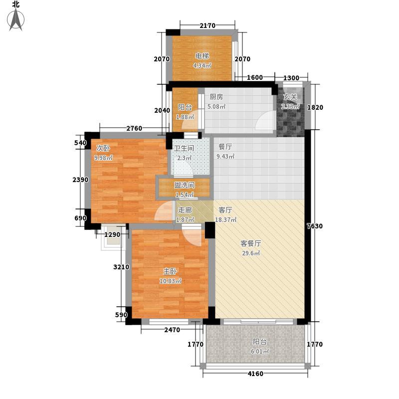 深华丽园82.63㎡深华丽园户型图6户型10室