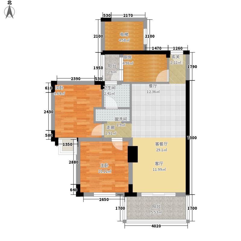 深华丽园79.30㎡深华丽园户型图1户型10室