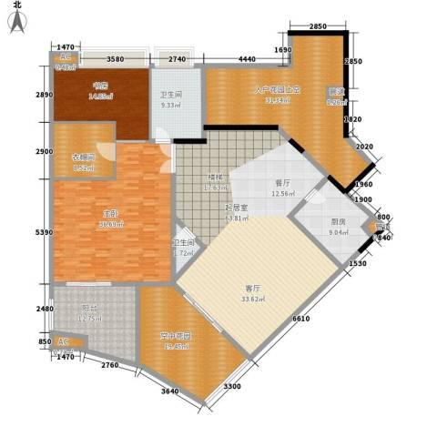 颐和上院2室0厅2卫1厨230.00㎡户型图